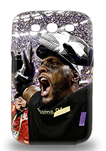 Premium Durable NFL Baltimore Ravens Ray Lewis #52 Fashion Tpu Galaxy S3 Protective 3D PC Case Cover ( Custom Picture iPhone 6, iPhone 6 PLUS, iPhone 5, iPhone 5S, iPhone 5C, iPhone 4, iPhone 4S,Galaxy S6,Galaxy S5,Galaxy S4,Galaxy S3,Note 3,iPad Mini-Mini 2,iPad Air )