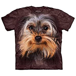 The Mountain Yorkshire Terrier Face Tee Shirt Adult S-XXXL 21