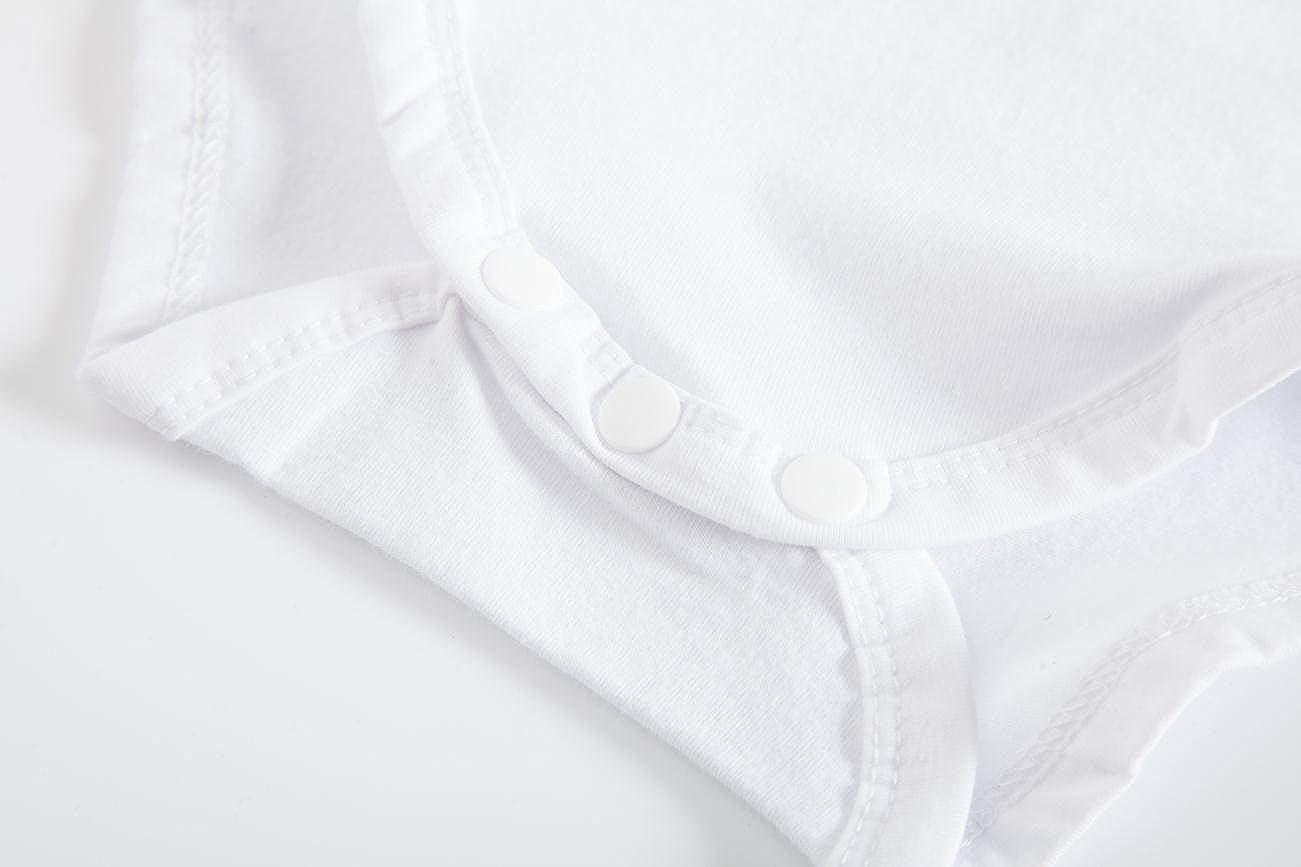 92b6b4022d20 ... Huata Baby Boys Girls Short Sleeve Onesies Bodysuit Baby Romper ...