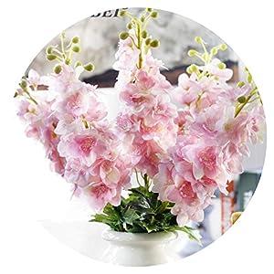 80Cm Simulation Flower Latex Delphinium Artificial Flowers Continental Pu Flowers Wedding Home Decoration 53