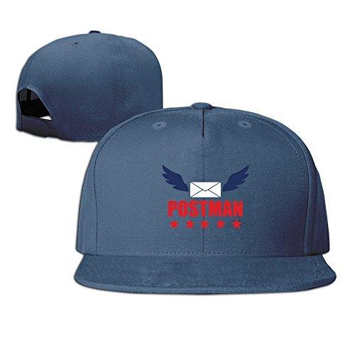 Vintage 100% Cotton Hat Men Women Postman Mail Custom Adjustable Cap - Carrier Letter