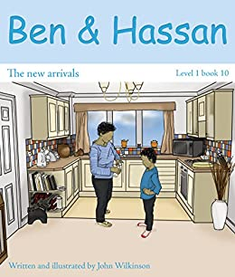 Ben and Hassan - Reception year reading books - Complete 10 books