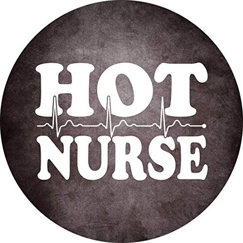 LIFESTYLE SHIRTS & GRAPHIX Hot Nurse with Heartbeat Funny Sexy Healthcare Professional Pride