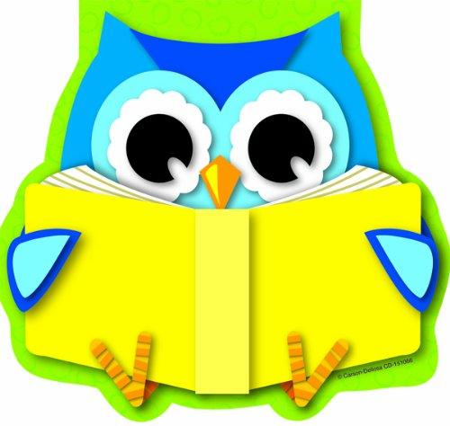 - Carson Dellosa Reading Owl Notepad (151066)