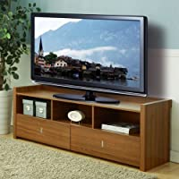 247SHOPATHOME Idi-13661 Television-Stands, Walnut