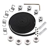 Calorbot 5M GT2 Timing Belt 6mm Width + 4pcs 20