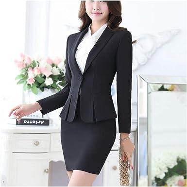 Uniforme de Oficina Elegante para Mujer Ropa de Trabajo Formal ...