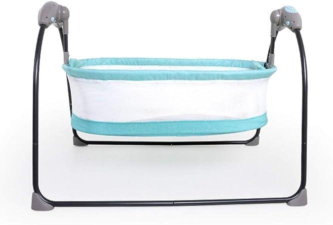 NIHE Babywippe Elektrisch Baby elektrischer Schaukelstuhl faltbar Baby Locken intelligentes Bett Neugeborenes Kind Schlafkorb automatischer Schaukelstuhl Schaukelbett