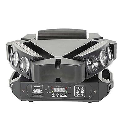 Tengchang 9X3W RGB 3in1 LED Spider Stage Moving Head Light DMX Bar KTV DJ Disco Lighting from Tengchang