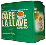 la llave coffee - Café La Llave Espresso, Fine Grind, 100% Pure Coffee, Dark Roast, Rich and Aromatic, 4,  10-Ounce  Bricks