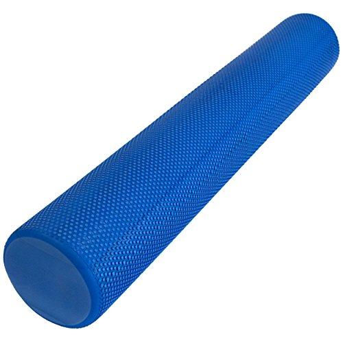 Yoga Pilates Rolle 90x15cm blau