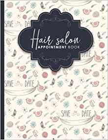 hair salon appointment book 2 columns appointment log. Black Bedroom Furniture Sets. Home Design Ideas