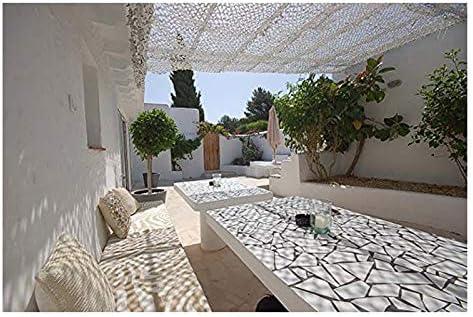 Red de camuflaje Blanco, 6m 8m 10m Red de camuflaje Pantalla de ...