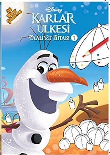 Disney Karlar Ulkesi Faaliyet Kitabi 1 Collective 9786050928655