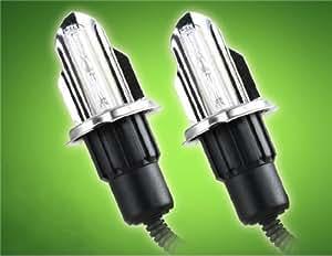 H4 35W HID White Light Fast Start Xenon Car Headlamps 2-piece Kit