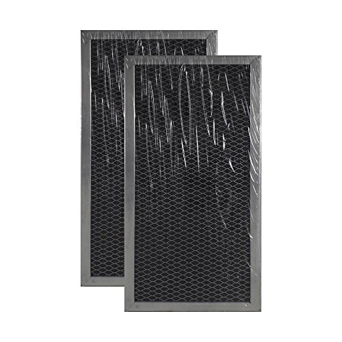 2 PACK W10120840A Whirlpool Microwave Hood Charcoal Filter Set by Air Filter Factory