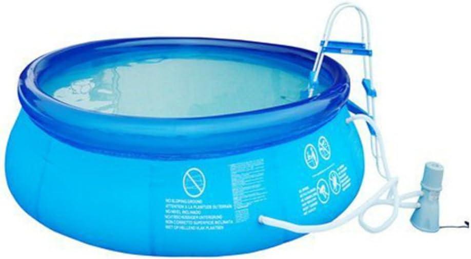 DXG&FX Casa Grande Piscina Fast Set Pool Piscina Inflable Lavabo del niño de la Familia-A