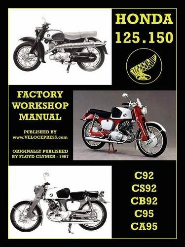 honda motorcycles workshop manual 125 150 twins 1959 1966 pdf books related with honda motorcycles workshop manual 125 150 twins 1959 1966 by floyd clymer fandeluxe Image collections