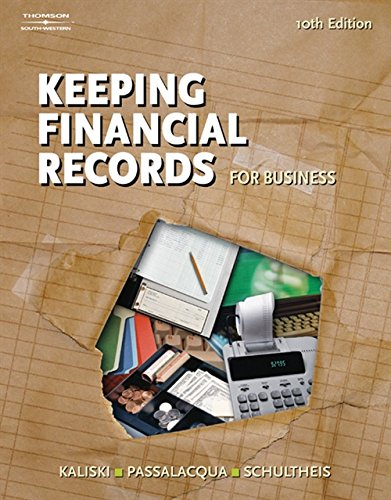 Keeping Financial Records for Business (Financial Record Keeping)