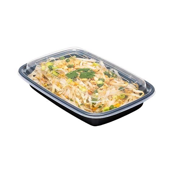 Amazon.com: Asporto - Recipiente para alimentos (apto para ...