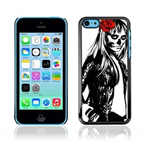 Designer Depo Hard Protection Case For Samsung Note 2 Cover Cool Woman, Skull Rose