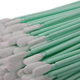 """100pc 6.3"""" Double Layer Polyester Cleaning Swab"""