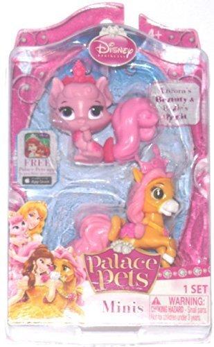 Disney Princess, Palace Pets, Mini Pets, Aurora's Beauty and Belle's Petit, 2-Pack -