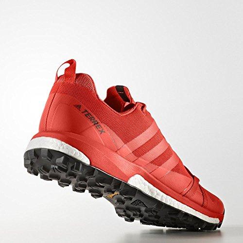 adidas Herren Terrex Agravic Trekking-& Wanderhalbschuhe, Rot, 43.3 EU verschiedene Farben (Energi/Energi/Ftwbla)