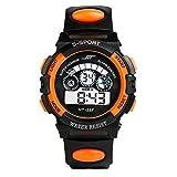 AmyDong Men's Digital LED Quartz Alarm Sport Watch