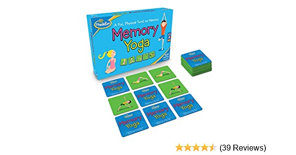 Think Fun Memory Yoga Action Game
