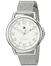 Tommy Hilfiger Women's 1781658 Casey Analog Display Japanese Quartz Silver Watch