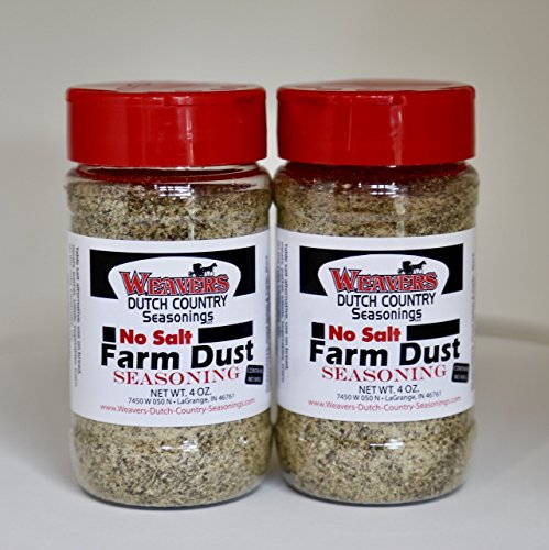 (Weavers Dutch Country Farm Dust Seasoning, No Salt, Package of 2)