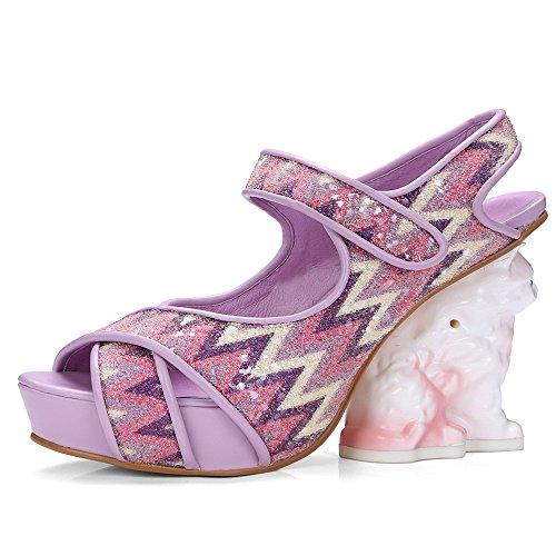 Zapatos morados formales TBS para mujer qHQe082Oj