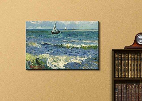 Seascape Near Les Saintes Maries De La Mer by Vincent Van Gogh Oil Painting Reproduction