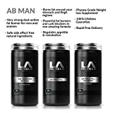 LA Muscle Abman Fast Weight Loss Supplement Collection Scientifically Engineered Fat Burners Safe for Men and Women Completely Natural Ingredients For Sale