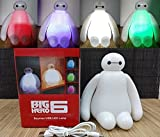 | LED Night Lights | New Rechargeable 1 Piece 16cm Big Hero 6 Baymax USB LED Night Light Creative RGB Changeable Baby Bedroom Table Lamp | by SULYMY