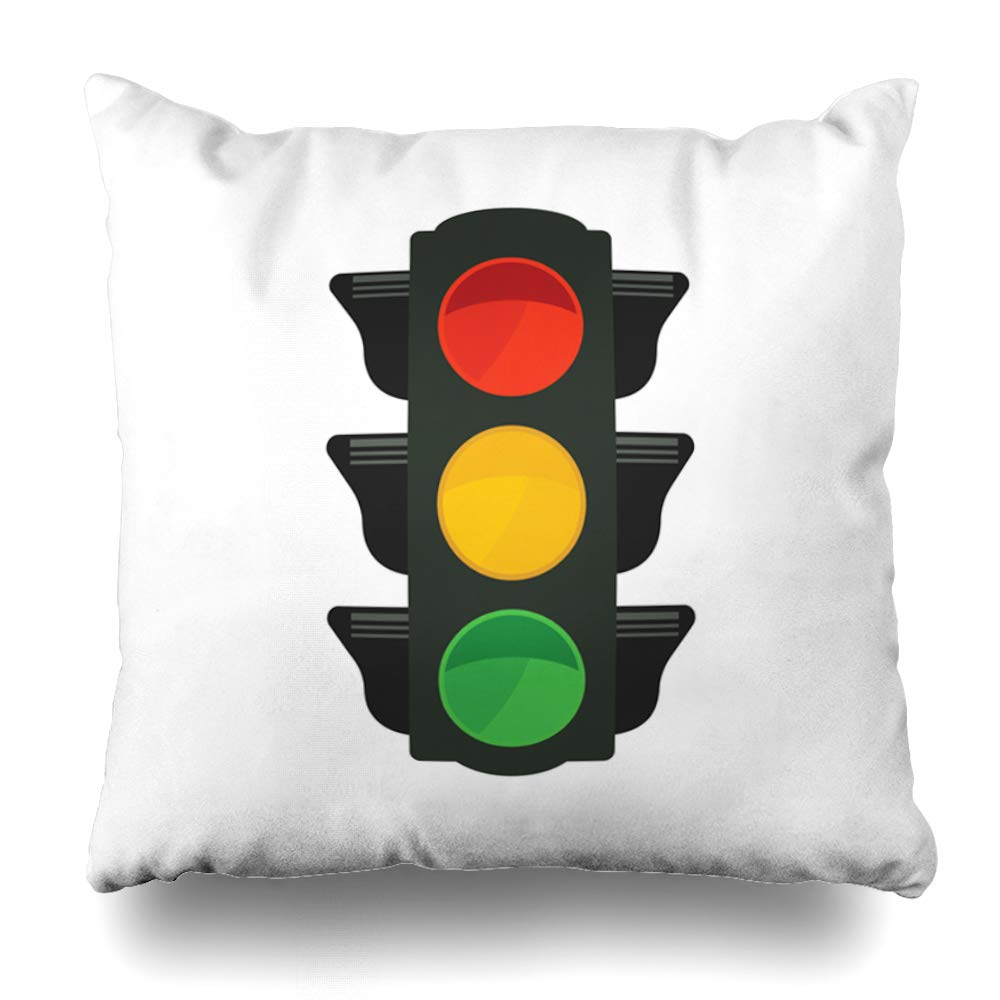 Traffic Light For Sale >> Amazon Com Ahawoso Throw Pillow Cover Access Green Signal