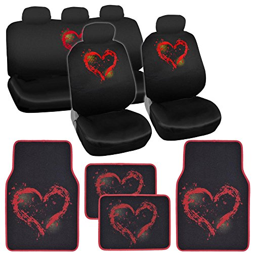 heart car seat covers civic - 9
