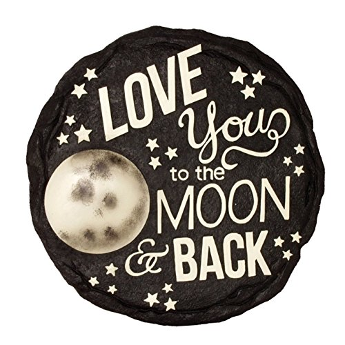 Spoontiques Moon & Back Stepping Stone (Moon Stone The)