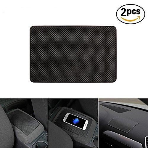 Follicomfy Extra Large Sticky Car Pad Dashboard Premium Anti-Slip Gel Mat for Cell Phones,Sunglasses,Keys,Coins and - Sillouette Glasses