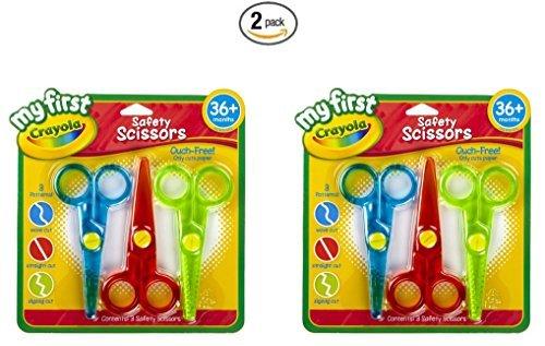 Crayola Safety Scissors 81 1323 2 Pack