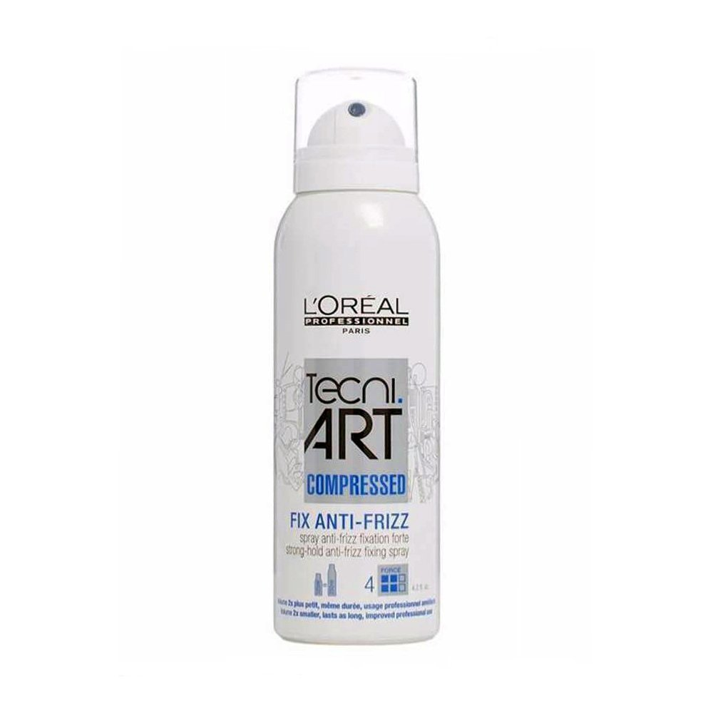 L'Oreal Tecni Art Fix Anti Frizz Spray Tamaño Comprimido Anti-Encrespamiento - 125 ml L'Oreal 3474636391042
