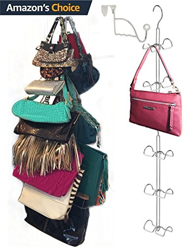 Over Door Hanging Purse Storage Organizer