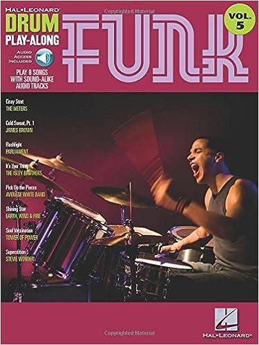 Funk: Drum Play-Along Volume 5 (Hal Leonard Drum Play-Along
