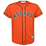 OuterStuff Carlos Correa Houston Astros #1 Youth Alternate Jersey Orange (Youth Large 14/16)