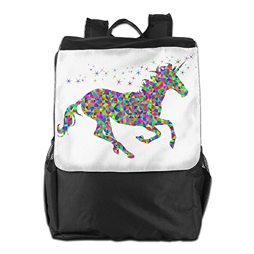 [GTSOXI Outdoor Travel Backpack Bags - Rainbow Unicorn Backpack Daypack Bookbags Gym Bag For Girl Boy Man] (Persona 4 Dancing All Night Costumes)