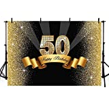 MEHOFOTO Photo Studio Booth Background Happy Birthday Party Banner Backdrops for Photography