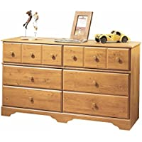 South Shore Dresser Country Pine Finish