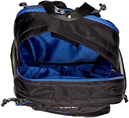 96a9c938d07d Diesel Men's 24/7 Super Backpack, Black/Blue: Amazon.com: Amazon US