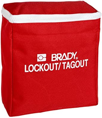 "Brady Lockout Pouch, Legend ""Lockout/Tagout"""